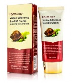 BB-крем с муцином улитки FARMSTAY Visible difference snail BB-cream SPF40 50 мл