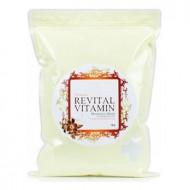Маска альгинатная витаминная (пакет) Anskin Revital Vitamin Modeling Mask / Refill 1кг: фото