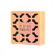 Пудра компактная 21тон Lioele Be My Skin Powder Pact [All Skin Type] 21 Blooming Ivory 12гр: фото