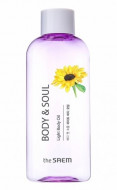Масло для тела THE SAEM BODY&SOUL Light Body Oil 230мл: фото