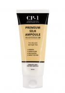 Сыворотка несмываемая для волос с протеинами шелка ESTHETIC HOUSE CP-1 Premium Silk Ampoule, 150 мл: фото