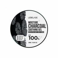 Увлажняющий гель с древесным углем LEBELAGE Moisture Charcoal Purity 100% Soothing Gel: фото