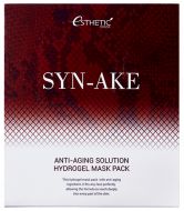 Маска для лица гидрогелевая ESTHETIC HOUSE SYN-AKE ANTI-AGING SOLUTION HYDROGEL MASK PACK 5шт: фото