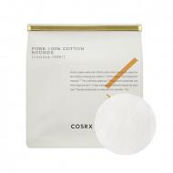 Хлопковые пады COSRX Pure 100% Cotton Rounds 80шт: фото